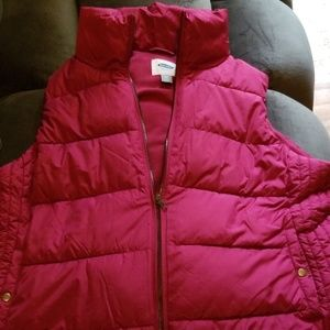 Old Navy fleece lined vest - New with tags!